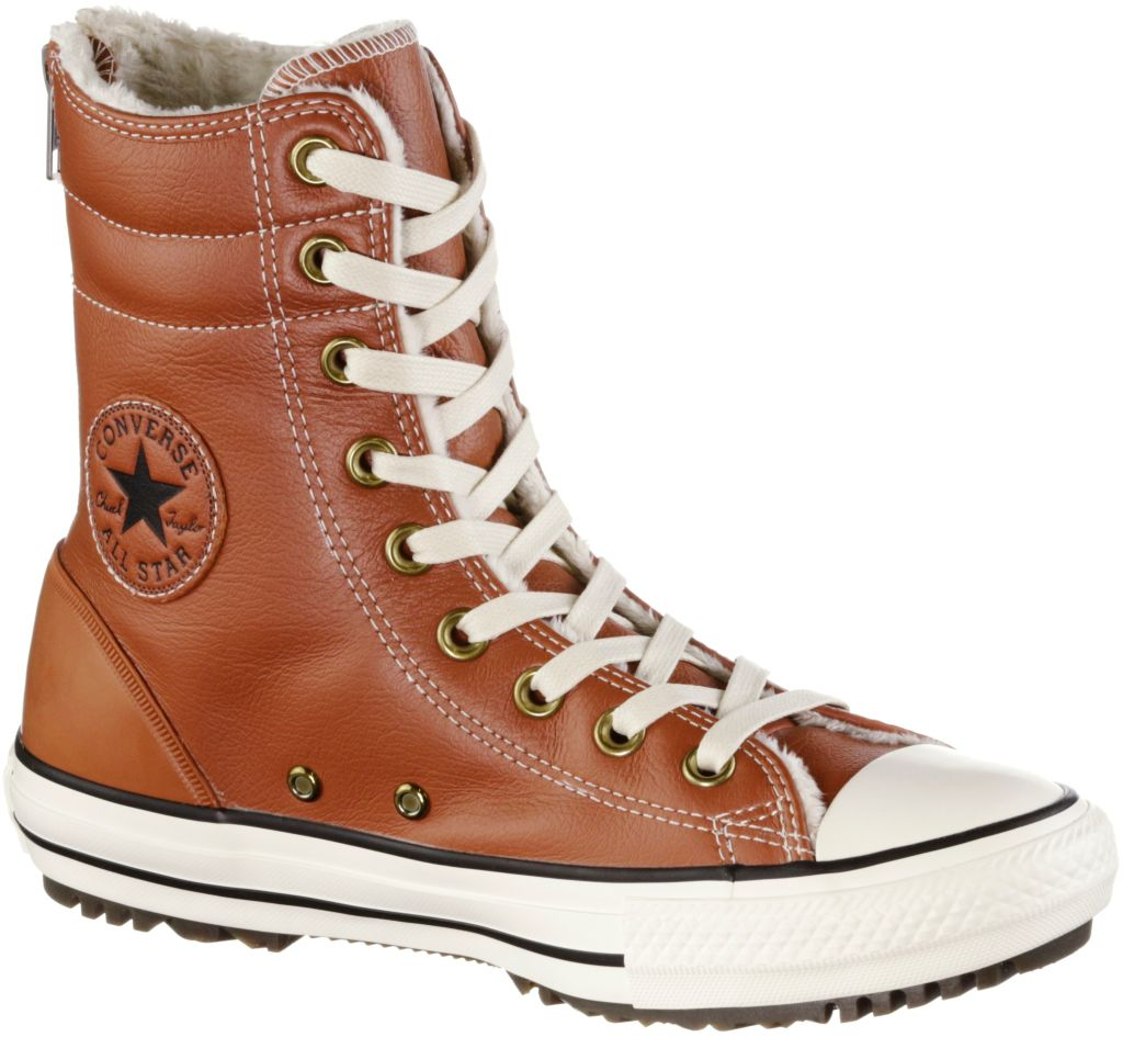 Hi Rise Boot Sneaker Damen in braun, Größe 40
