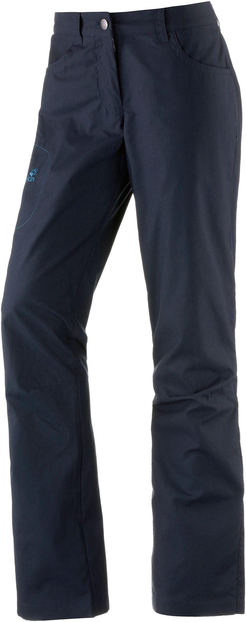 Jack Wolfskin Rainfall Thermohose Damen in blau, Größe 44