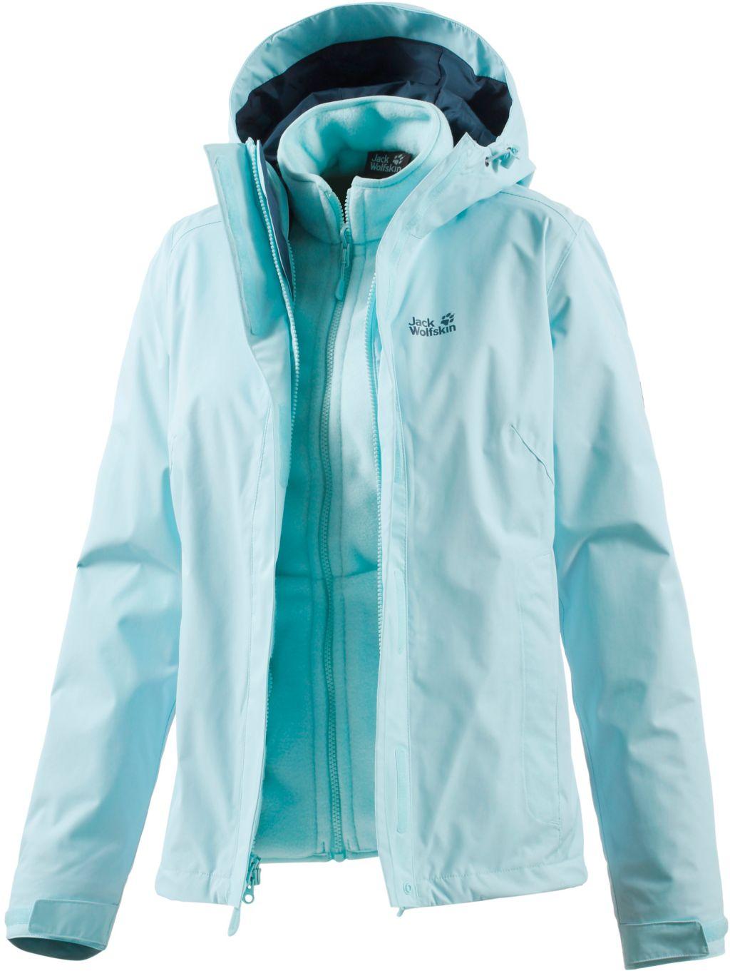 Crush´n Ice Doppeljacke Damen in blau, Größe S
