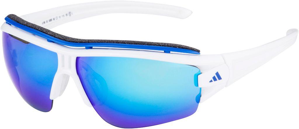 Sportbrille in WHITE SHINY/WHITE