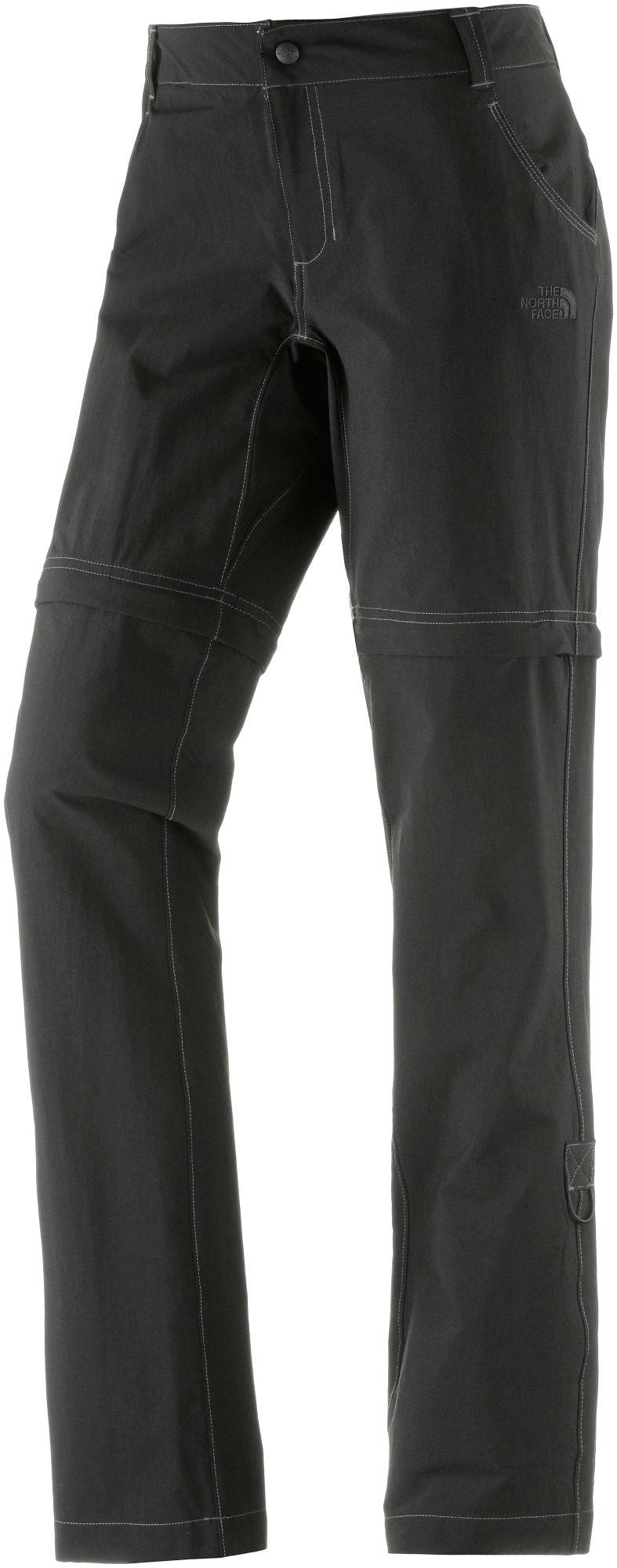 Exploration Convertible Zipphose Damen in schwarz, Größe 34