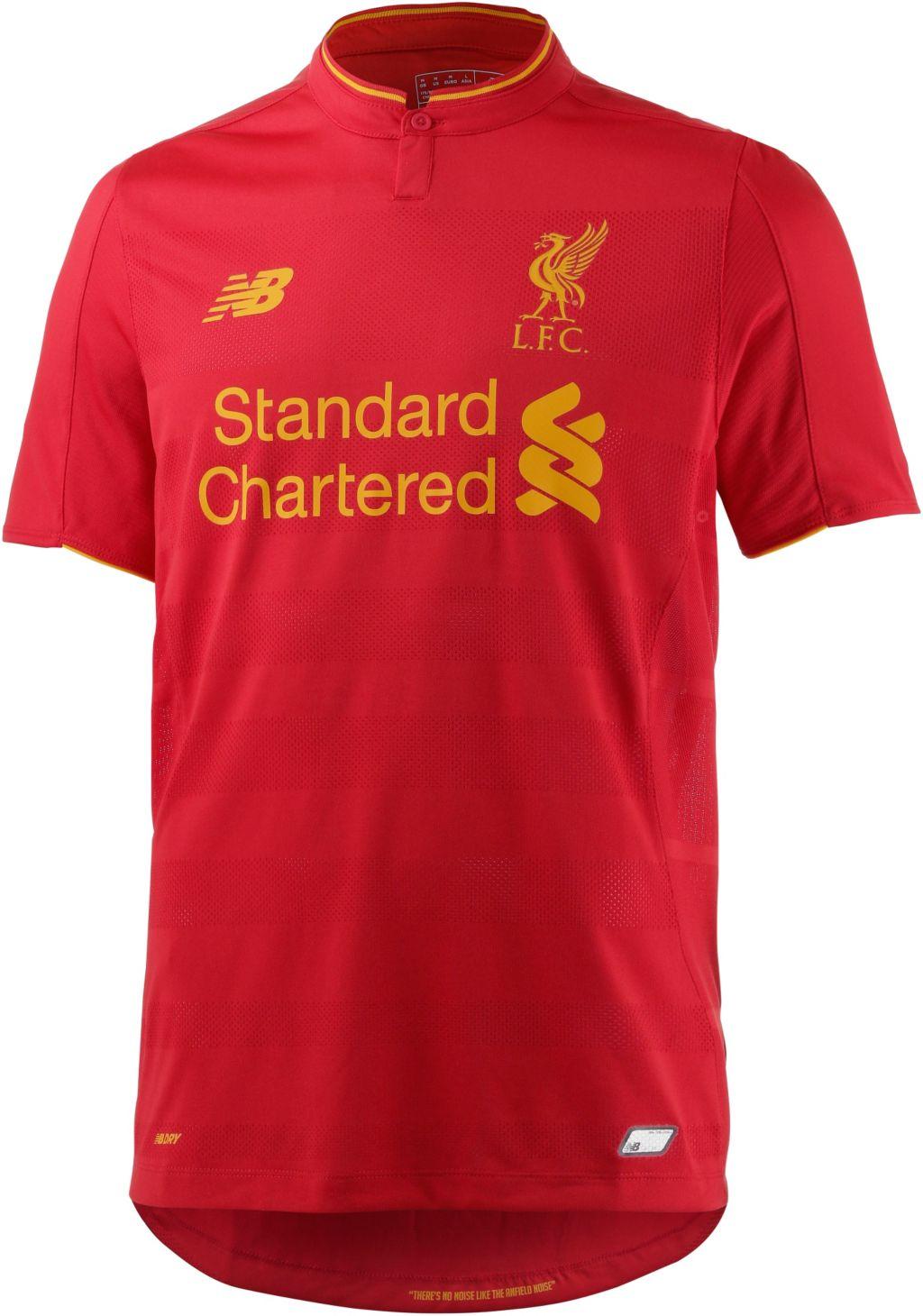 Liverpool FC 16/17 Heim Fußballtrikot Herren in rot, Größe L