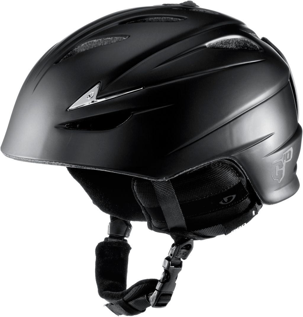 G10 Skihelm in schwarz, Größe M