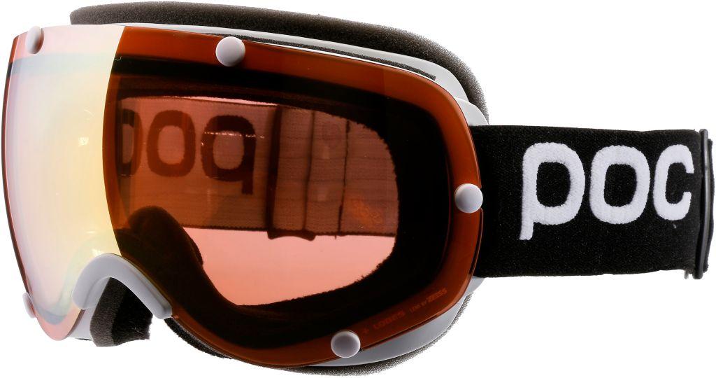 Lobes Skibrille in schwarz