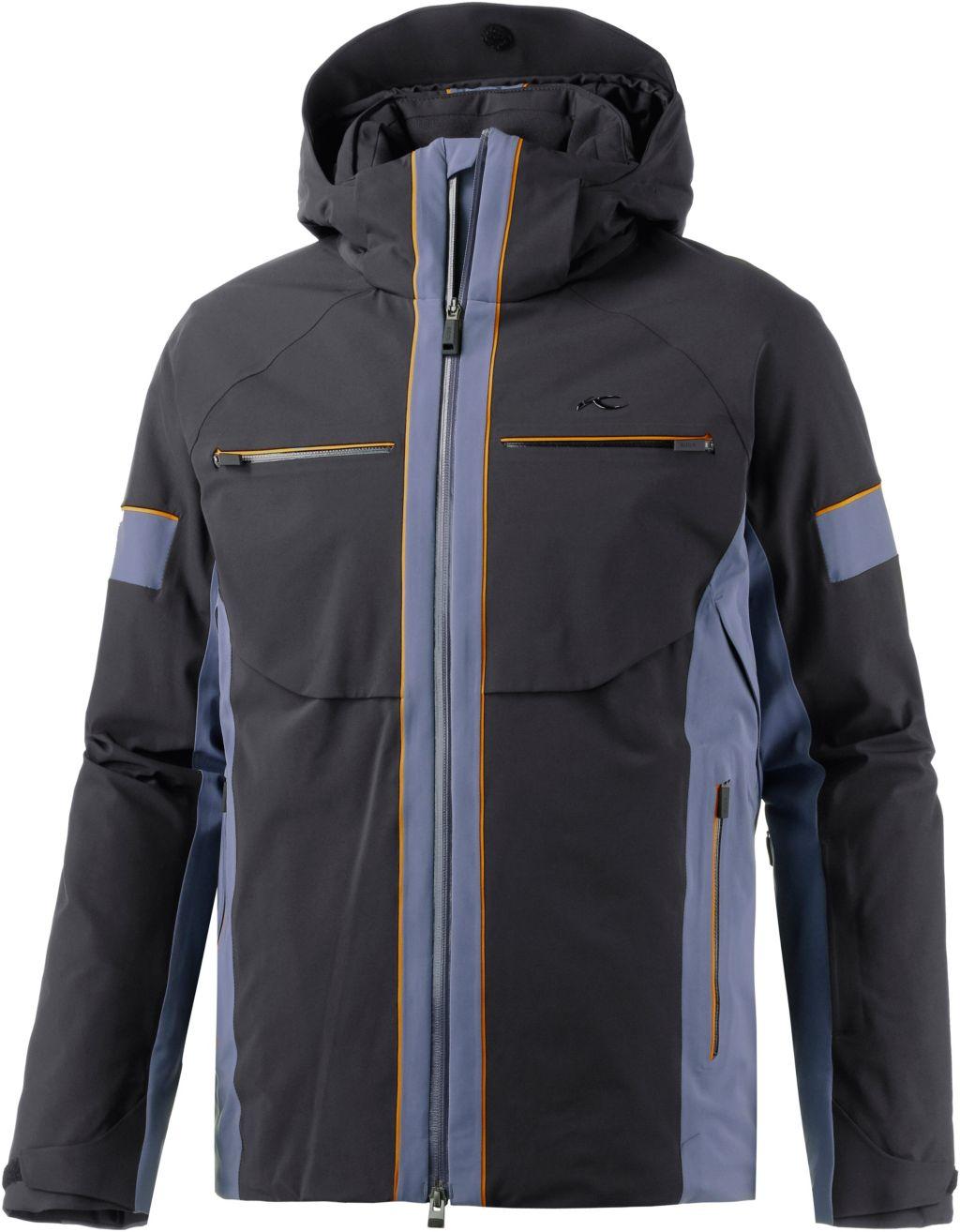 Downforce Skijacke Herren in schwarz/graphit, Größe 50