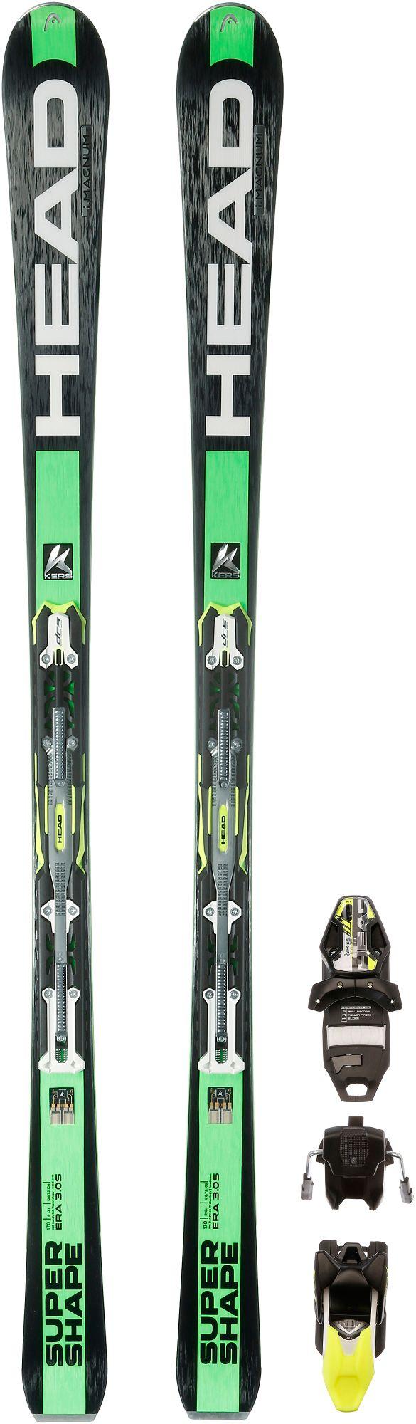 iSupershape Magnum All-Mountain Ski in schwarz, Größe 177