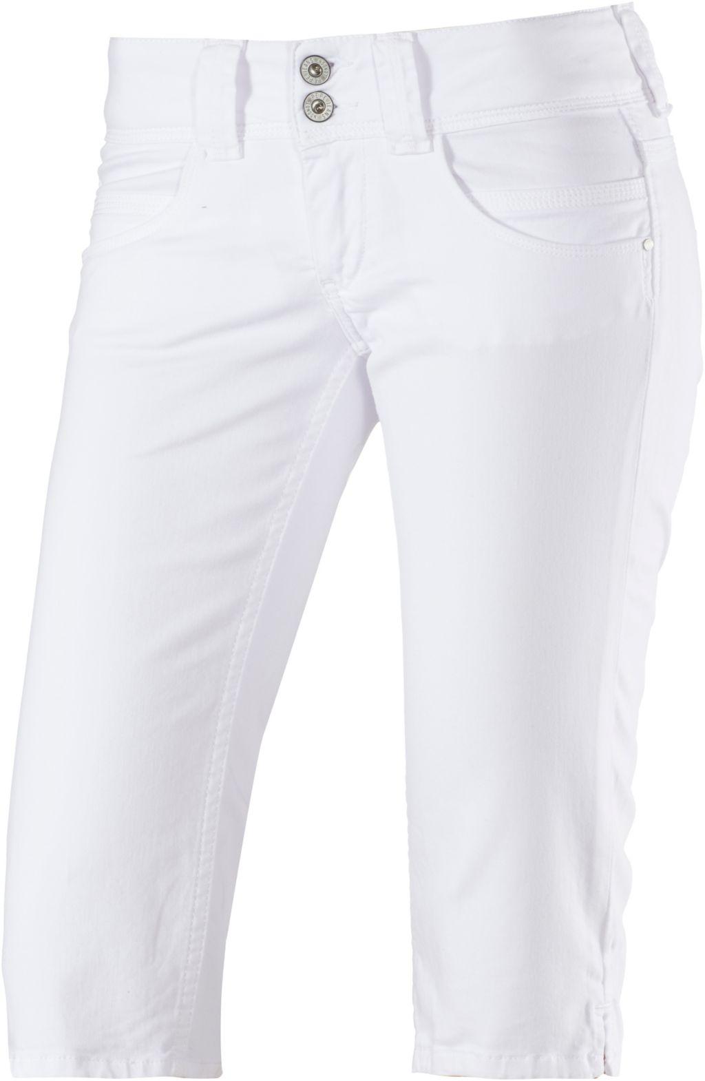Pepe Jeans Venus 3/4-Jeans Damen in weiß, Größe: 27