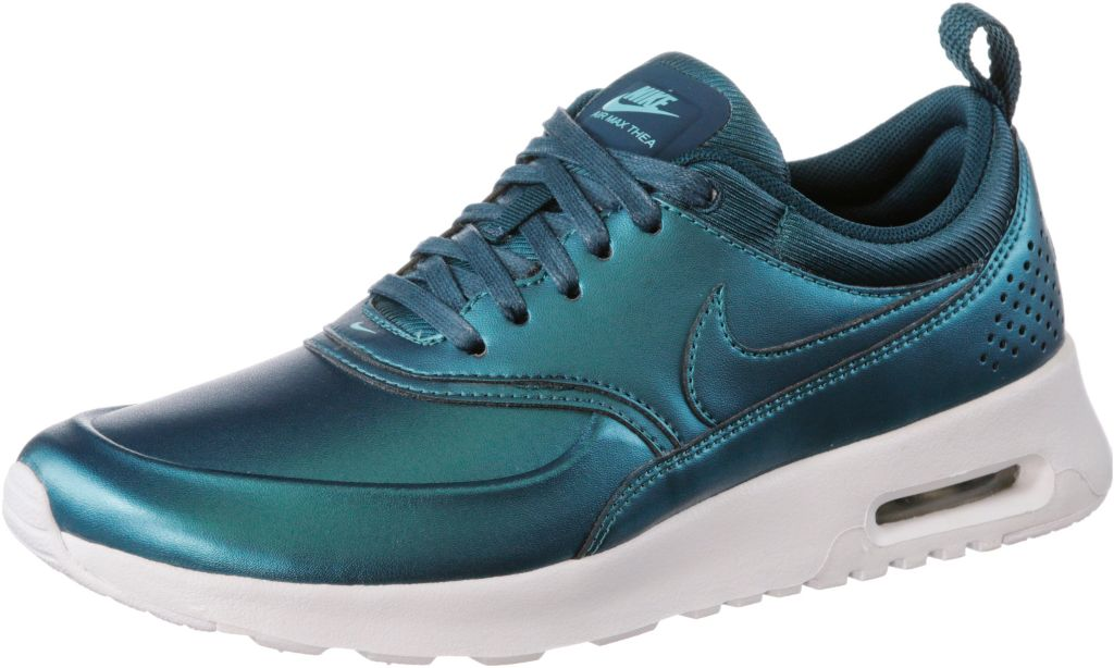 Nike W AIR MAX THEA Sneaker Damen in metallic blau, Größe: 38 1/2