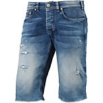 M.O.D Thomas Jeansshorts Herren destroyed denim