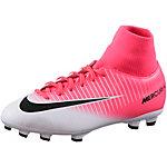 Nike JR MERCURIAL VICTORY VI DF FG Fußballschuhe Kinder pink/weiß