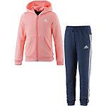 adidas Trainingsanzug Mädchen apricot/schwarz